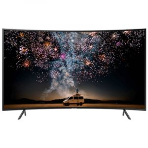 تليفزيون سامسونج  65 بوصة ذكي, الترا اتش دي 4كيه,شاشة منحنية, الفئه السابعة - UA65RU7300RXUM