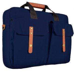 لافنتو حقيبة يد للاب توب مقاس 15.6 بوصة تصميم فرنسي - ازرق-  BG-27-7