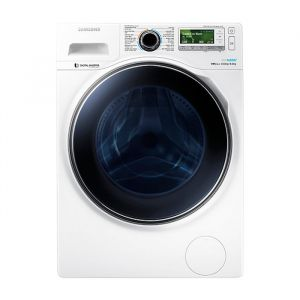 Samsung 10kg Front Load Washer/Dryer - White - WD10J8420GW
