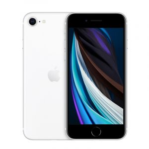 أبل ايفون اس اي 64جيجا , 3جيجا بايت رام ,شاشة 4.7 بوصة, 4جى, أبيض