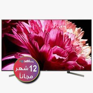 سوني شاشة 85 بوصة ال اي دي, 4 كيه, اتش دي آر, تلفزيون ذكي, اندرويد - KD-85X9500G (اشتراك شاهد لمدة 12 شهر)