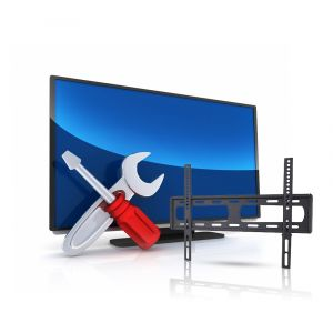خدمة تركيب تليفزيون واحد + ستاند جدارى من 32بوصة  حتى 70بوصة - LP34-46F - خدمة التركيب متوفرة داخل الرياض فقط
