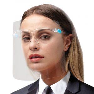 سمارت لاين حماية الوجه بالكامل , يحمى من الرذاذ والغبار , مريح فى اللبس سهولة التنفس , سهولة التنظيف , رؤية واضحة - FPS1A