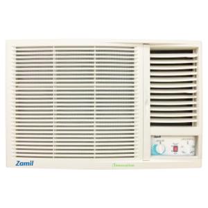مكيف شباك ZAMIL روتاري م/ZCB18CAXFINNW بارد فقط قدرة 17600 وحدة (موفر للطاقة)