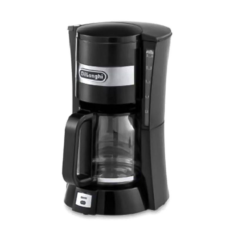 ماكينة صنع قهوة بالتنقيط من ديلونجي، بقوة 900 واط، سعة 1.25 لتر، أسود – (DLICM15211)