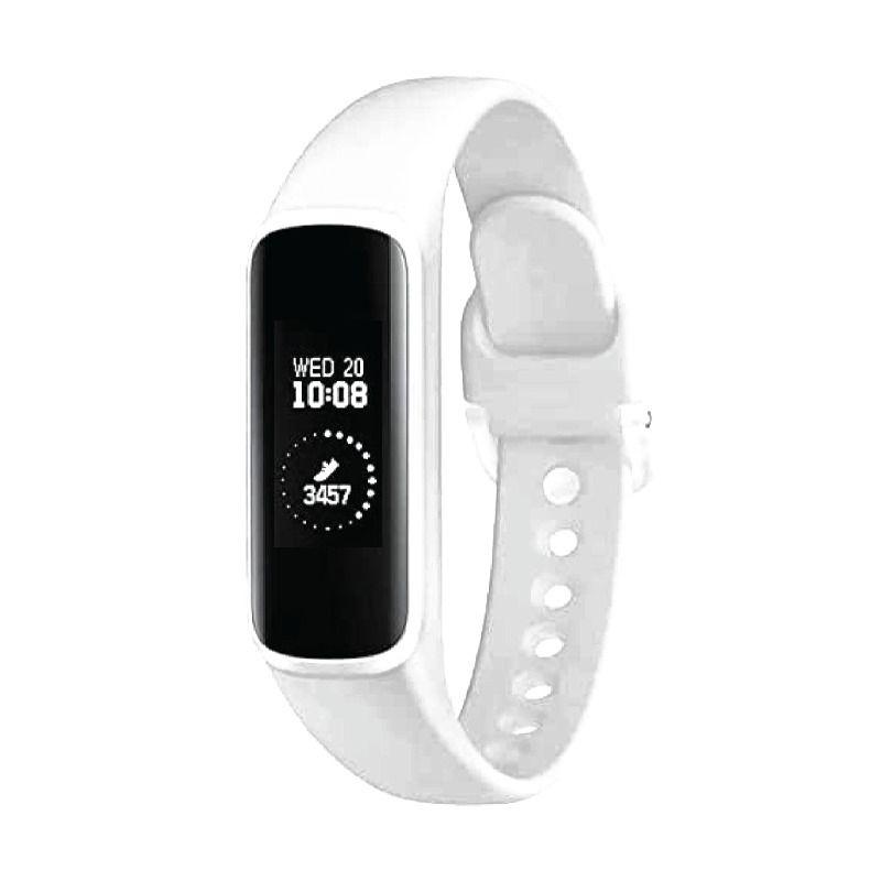 ساعة سامسونج ذكية فيتنيس باند فيت إي، أبيض