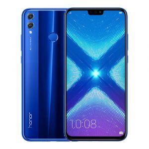 هونر ، 8 اكس ،سعة 128 جيجابايت ،أزرق ،الجيل الرابع 4G