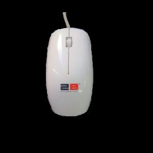 تو بي ماوس كمبيوتر ابيض  - MO-20
